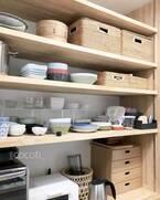 お弁当グッズも、食器も、ストックも!キッチン収納のアイディア16選