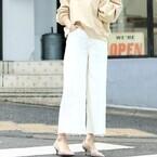 白パンツコーデ50選!パンツスタイルを春色にアップデートしよう♡