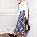 おしゃれ初心者さんにオススメ♡ホワイトトップス×花柄スカートで作る春コーデまとめ♪