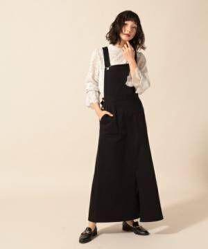 ジャンパースカートが可愛い♡着回し力抜群のジャンパースカートで春コーデを楽しもう♪