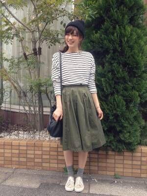 【GU】で見つけた!思わず欲しくなっちゃう、プチプラスカートをご紹介♪