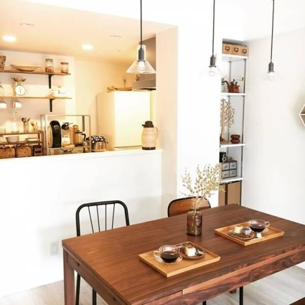 オシャレなカフェ風インテリア実例20選!素敵なお部屋作りのために押さえておきたい4つのポイント