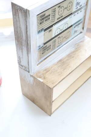 【連載】ダイソー、セリアの同じサイズ3つを組み合わせるだけ!鏡付き収納を作ろう!
