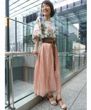 春はふんわりスカートが穿きたい!エアリーな大人ガーリーコーディネート特集♡