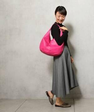 コーディネートの仕上げに♪アクセントにも、実用的にも大活躍するバッグ特集!