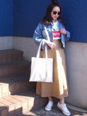 【GU&ユニクロ】でスカートをGETしよう!春はスカートがかわいい季節♡