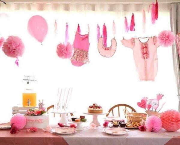 ベビーシャワーのおしゃれアイディア☆プレママさんのお祝いの参考に!