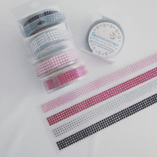 簡単に作れる♡100均のデコテープ&アルファベットシールを使ったリメイクアイデア