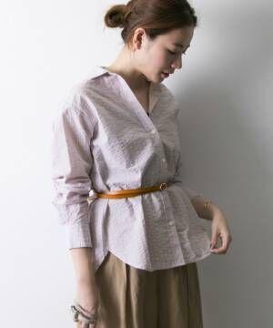 スカーフアレンジをプラス♡大人コンシャスな春スタイルのつくり方