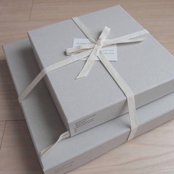 モノトーンやシンプルラッピングで贈り物をしよう♪大人可愛いアイテムとリメイクをご紹介!