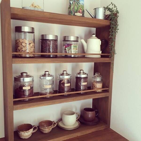 カフェタイムがもっと楽しみになる!お茶グッズの3つの収納方法をご紹介