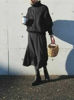 【GU】のドット柄アイテム大特集!ファッショニスタが着こなす春のトレンドコーデ♡