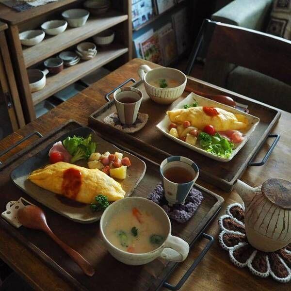 自宅でほっこりシアワセ時間。春に楽しむ、おうちごはん&おうちカフェ