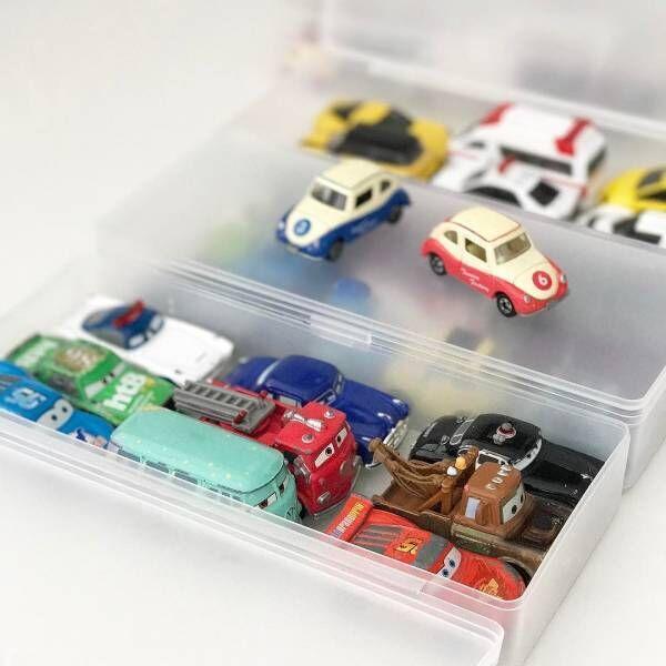 今すぐマネしたい!レゴ・ミニカーなどの細々したおもちゃのスッキリ収納術♩