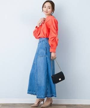 春こそ可愛いデニムスカート♡買い足す前にチェックしたい、デニムスカートの選び方!
