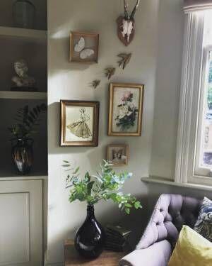 絵画やアートを使った素敵なインテリアコーディネート50選☆壁を素敵に彩ろう♪