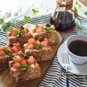 『おうちカフェ』をお洒落に楽しもう!キッチンアイテムを使った手作りおやつの盛り付けアイディア♡
