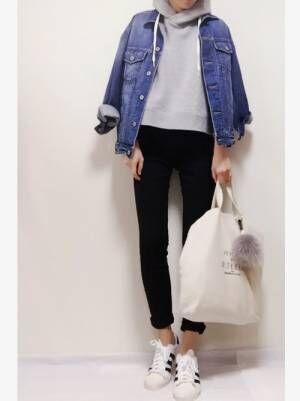 春に欲しい☆【GU】のデニムジャケットでお洒落なプチプラコーデ!