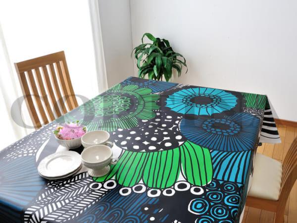 北欧雑貨・テーブルクロス特集☆ダイニングテーブルを一気にイメージチェンジ!