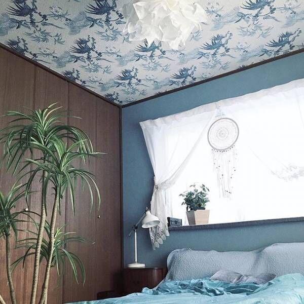 寝室だからこそ自由にコーディネート♪アクセントウォールやファブリックでこんなに変わる!
