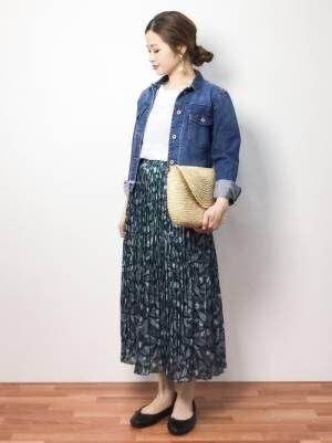 今年の春~初夏に穿きこなす!プリーツスカートの大人可愛い素敵な着こなし術15選