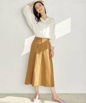 足元を冬から春へ♪パンツ&スカートでつくるパンプスコーデ!