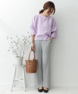 春スタイルはブラウスで作る!可愛いも綺麗も叶うブラウスコーデ15選♡
