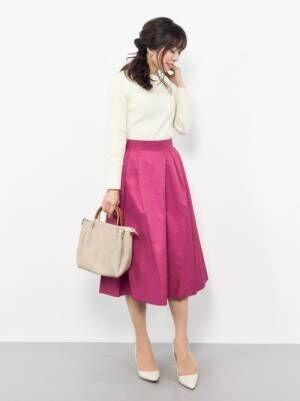 2018年春夏はフレアスカートコーデで決まり♡春夏におすすめの柄やカラーをご紹介!