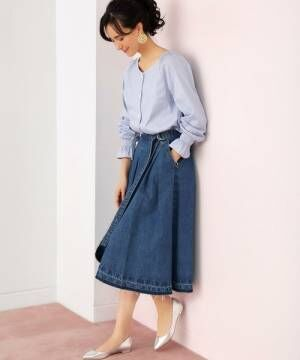 春夏はフレアスカートコーデで決まり♡おすすめの柄やカラーをご紹介!