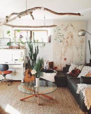 《海外発》グリーンを使ったMIXインテリア!植物と暮らすナチュラルテイストな空間づくりとは?