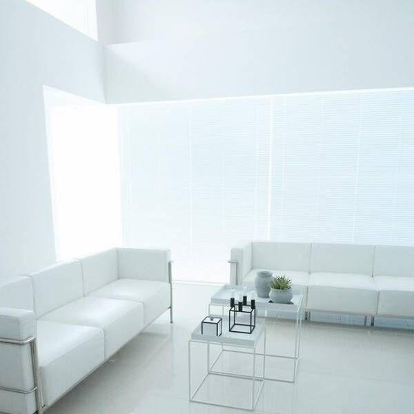 美しいホワイトインテリアを楽しむ!白を使ったアイテムで明るく爽やかに