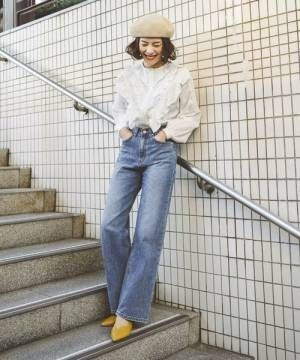 ガーリーなブラウスをどう着る?30代の大人女子におすすめの着こなし術15選
