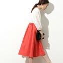 今春のトレンド!「ビビット」なオレンジのパンツ&スカートで合わせる素敵コーデ15選