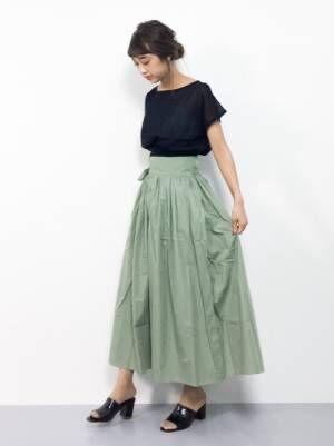 ALL3,000円以下!プチプラロング丈スカートで作る、夏先取りコーデ特集