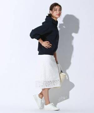 今人気の《パーカー女子》!ボーイズライクなアイテムをあなたはどう着る?