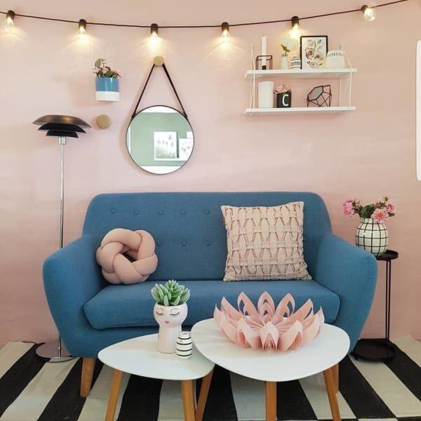 ピンクをインテリアにプラス♡海外インスタグラマーのお洒落でスタイリッシュなお部屋20選