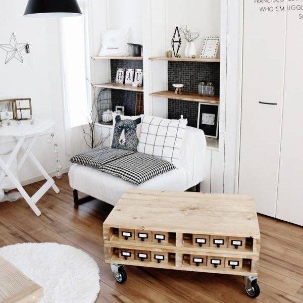 海外で人気のパレットで大型家具をDIY!アイディアたっぷりな実例のご紹介
