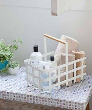 白と天然木のナチュラル感が人気☆山崎実業「tosca」&「plain」シリーズ!