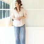 今年の春のイチオシ!「ピンクトップス」で大人きれいめ&カジュアルな着こなし術