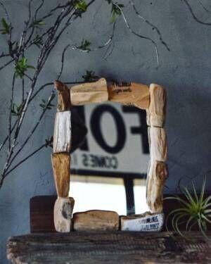 【連載】100均のシンプルな鏡を10分で爽やか春テイストにリメーク!
