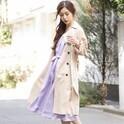 マンネリコーデ解消♡オトナ女子の今っぽいトレンチコートの着こなし15選