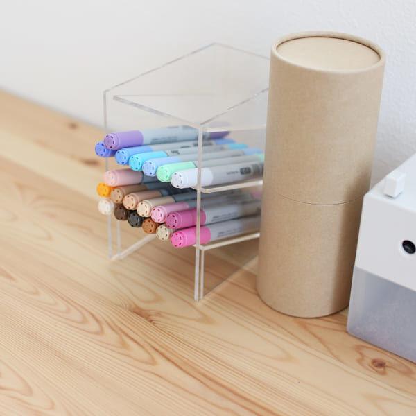 【無印良品】でステーショナリーの整理収納☆アイデア満載の収納実例をご紹介します
