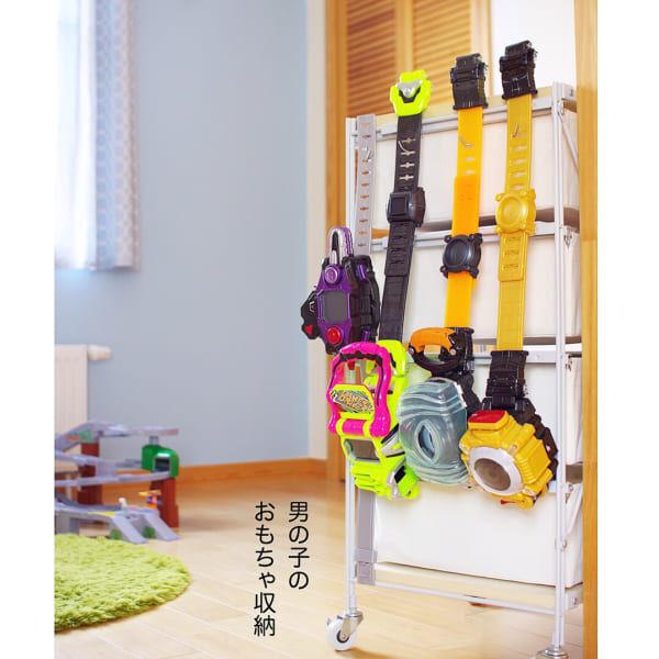 どんどん増えるおもちゃの収納アイディア☆スッキリと片づけるコツをご紹介