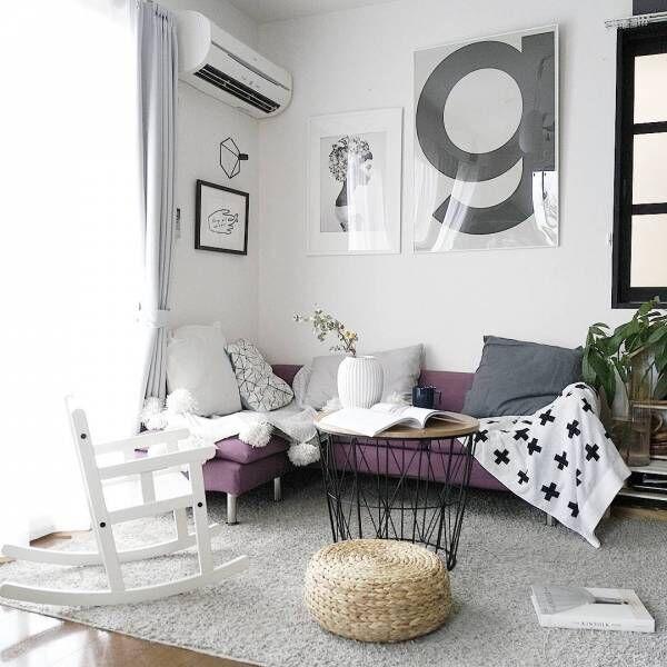 たちまちお部屋が北欧インテリアに♡おしゃれな空間をつくるポスターをご紹介