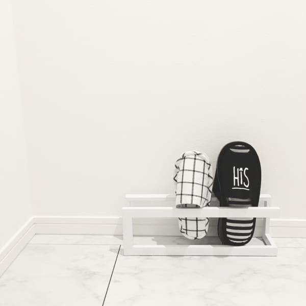 素敵な玄関にぴったりのスリッパ収納方法♪おしゃれなアイディア実例集