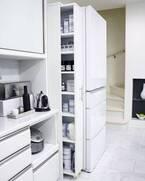 隙間で叶える収納実例&アイディア☆ランドリー・キッチンの場所別にご紹介!