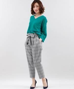 今春も続くトレンド!大人の「チェック柄パンツ」素敵な着こなし術をご紹介