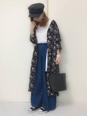 プチプラなのにおしゃれ!【GU】ロング丈の羽織りもので大人女子コーデをランクアップしよう♪