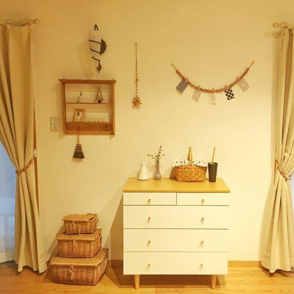 お部屋を彩るインテリア!チェストを置いて雰囲気と収納力を上げましょう!