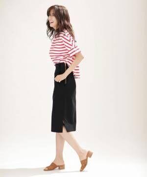 きれいめタイトスカートは着崩すのが今年流!見本のコーデをチェック☆